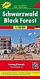 Selva Negra, mapa de carreteras. Escala 1:150.000. Freytag & Berndt. (Road Maps)