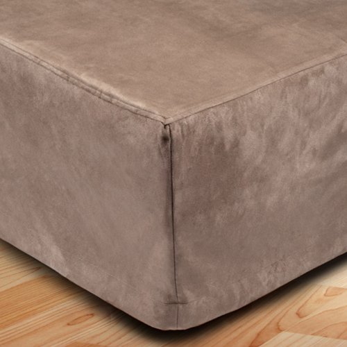 Madura Cache sommier MONTANA Taupe 180x200 cm