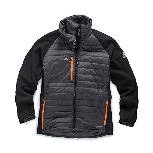 Scruffs T54044 Expedition Thermo Softshell-S, Schwarz Expedition Softshell