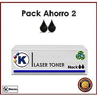 Konver Toner CE505A para- stampante LaserJet P2035. Pack risparmio k505a