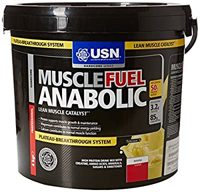 USN 4 kg Anabolic Banana Muscle Fuel from USN