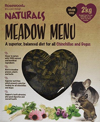 Rosewood Palissandro Naturals prato menu Chinchilla/Degu food 2kg
