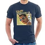 Photo de Coto7 Freddie Mercury Retro Style Background Men's T-Shirt par Coto7