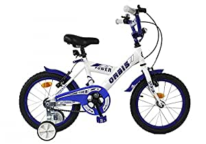16 ZOLL KINDER FAHRRAD KINDERFAHRRAD KINDERRAD Jugendfahrrad BMX Bike Stützräder POWER WEISS