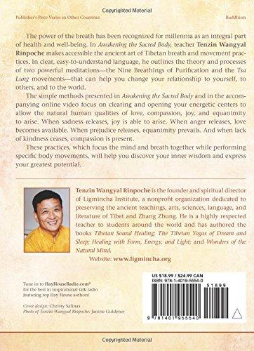 Zoom IMG-1 awakening the sacred body tibetan