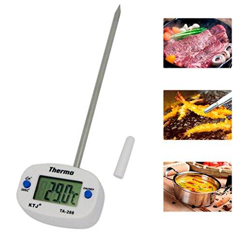 Galleria fotografica Portable Digital cottura degli alimenti termometro lettura istantanea termometro per carne per cucina Barbecue