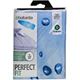 Brabantia Ice Water Ironing Board Cover with 2 mm Foam, L 135 x W 45 cm, Size D