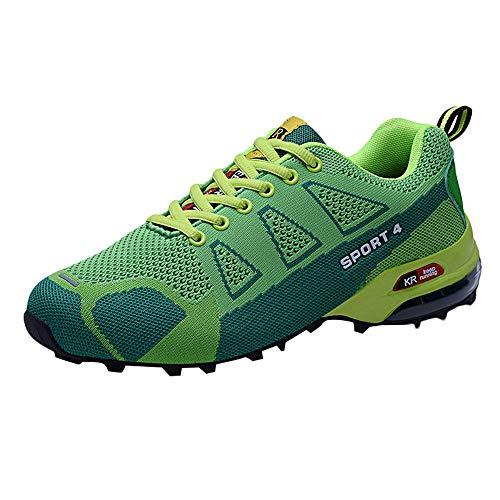ABsoar Schuhe Herren Sneaker Casual Freizeitschuhe Outdoor Turnschuhe Bergsteigen Schuhe Leichte Atmungsaktive Schnürschuhe Wanderschuhe