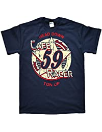 Cafe Racer Star Ton Up T-Shirt