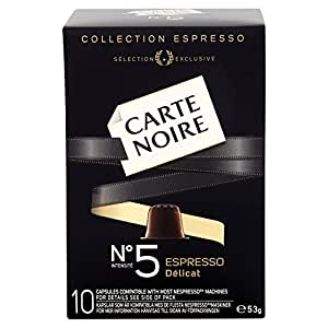 Carte Noire Espresso No 5 Delicat 10 Coffee Capsules 53 g (Pack of 8)