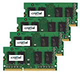 Crucial 32GB Kit (8GBx4) DDR3 1866MHz 204-Pin Apple Memory Upgrade for Late 2015 iMac 27