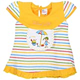 Little Life Baby Frock 100% Cotton in GO...
