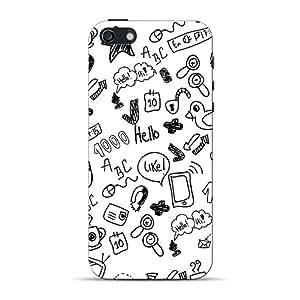 Inkif Printed Designer Case For Apple Iphone 5S Multi-Coloured