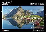 360° Norwegen Kalender 2020 -