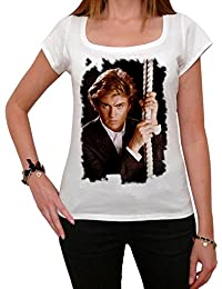George Michael C Melrose Tshirt, George Michael Tshirt, Femme Tshirt cadeau