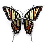 Amazing ambre et argent Sterling 925 Papilo Machaon Pendentif/broche en forme de Papillon