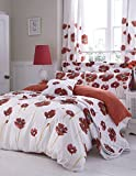 Catherine Lansfield Poppies King Quilt Set