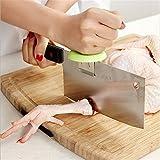 wjkuku Creative tabla de cocina de acero inoxidable de verduras Booster resto