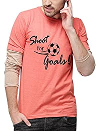 Campus Sutra Men's Cotton T-Shirt