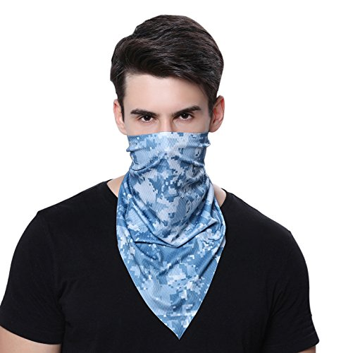Outdoor Scarf Camouflage Hunting Camping Face Masks Soft Breathable Thin Jungle Dust Quickly Dry Bandage