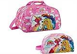 Barbie Einhorn Sporttasche 40x24x23 Reisetasche + beauty case Kulturbeutel (13)