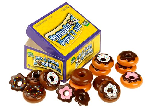 Learning Resources Learning Resources Smart Snacks Mix and Match Doughnuts