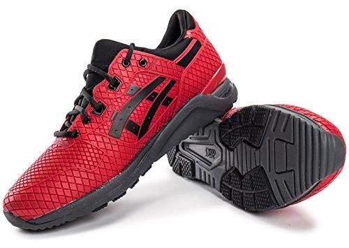 Asics Gel-Lyte Evo Sneaker Herren rot schwarz Red-Black
