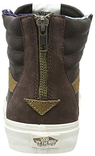 Vans Unisex-Erwachsene U Sk8-Hi Zip Ca Leather/Nubuck