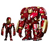 Vengadores La Era de Ultrón Cabezones Artist Mix Hulkbuster & Battle Damaged Iron Man 20 cm