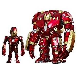 Avengers Age of Ultron Artist Mix Bobble Heads Hulkbuster y Battle Damaged Iron Man 20 cm Hot Toys