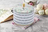 La Jolíe Muse Duftkerze Groß 400g 100% Sojawachs Weißer Tee Kerze in Dose 2 Dochte 80Std Muttertag Geschenk - 3