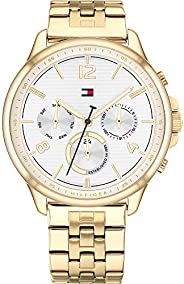 Tommy Hilfiger Women's Analogue Quartz Watch with Stainless Steel Strap 178