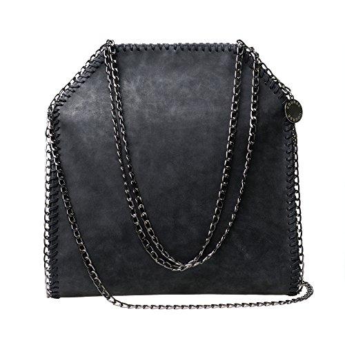Luxus Damentasche Schultertasche Shopper mit Ketten