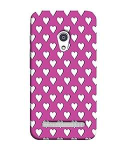 PrintVisa Designer Back Case Cover for Asus Zenfone Selfie ZD551KL (Emotions Feelings Love Heart Girlie)