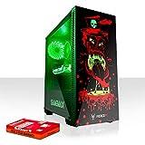 Fierce Maniac RGB Gaming PC - Schnell 4.1GHz Hex-Core Intel Core i5 8500, 1TB Festplatte, 16GB 2666MHz, AMD Radeon RX 550 2GB, Windows Nicht Enthalten 1071999