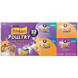 Purina Friskies Wet Cat Food, Poultry, 4...