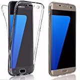 TPU Full Body 360 ° Transparent Cover Samsung Galaxy S7 Edge Hülle Case Beidseitig Schale...