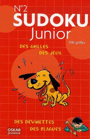 Sudoku Junior N° 2 : Des grilles de jeu, des devinettes et des blagues ! par Jean-Gabriel Jauze