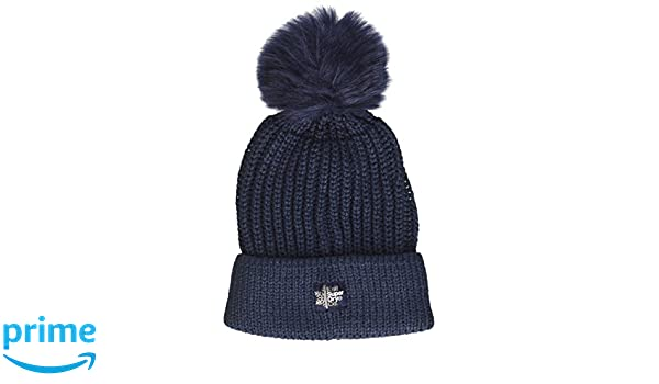 Womens G90005YP Beanie, Blue (Navy), (Manufacturer Size: OS) Superdry