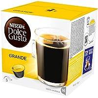 NESCAFÉ Dolce Gusto Grande Kaffee   48 Kaffeekapseln   100% Arabica Bohnen   Feine Crema und kräftiges Aroma    Schnelle Zubereitung   Aromaversiegelte  Kapseln   3er Pack (3 x 16 Kapseln)