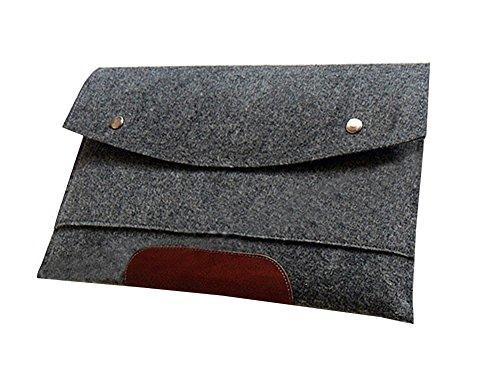 Filz Laptop Sleeve Laptoptasche Hülle Laptophülle Schutzhülle für Laptops Hülle Sleeve Notebooktasche für 10-17 Zoll Macbook air/pro/ret,iPad für macbook 11.6