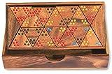 Namesakes Triomino – Triomino - Holzspiele für Kinder – Pädagogisches Spielzeug - für Jungen, Mädchen und Erwachsene