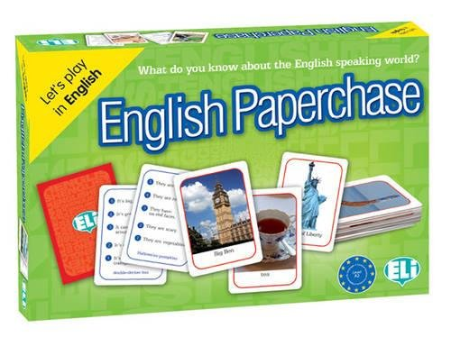 English Paperchase : Let's play in English