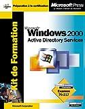 Kit de formation windows 2000 active directory services
