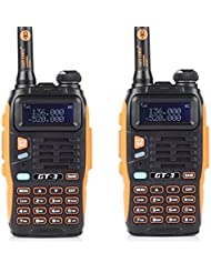 Baofeng GT-3 - Pack de Walkie-talkie + cable de programación