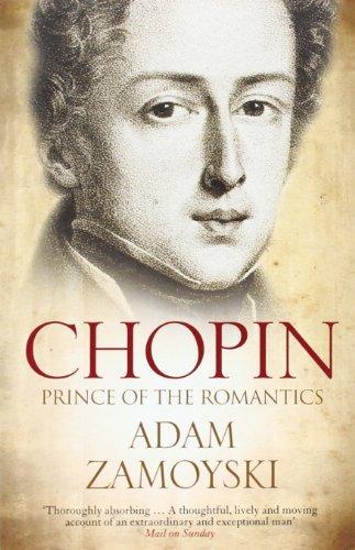 Portada del libro Chopin: Prince of the Romantics by Adam Zamoyski (2011-02-01)