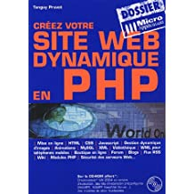 Créez votre site Web dynamique en PHP (1Cédérom)