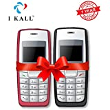 I KALL 1.4 -inch Display Feature Mobile Combo - K72 (Black + Red)