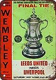 WallAdorn 1965 Leeds vs. Liverpool Wembley Iron Poster