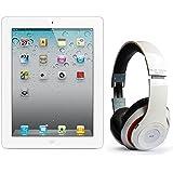 Pack iPad 2 64Go Wifi 4G Blanc avec casque Bluetooth Blanc